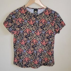 MOMA Tapestry Cotton Short Sleeve TShirt Size M